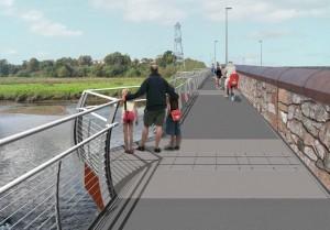 Bridge Road - computer image