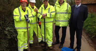 Road wardens, Plymtree volunteers