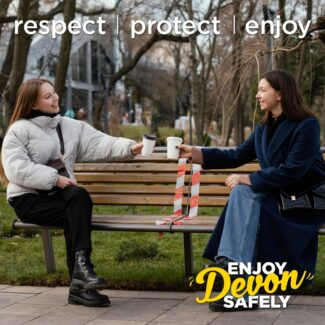 Enjoy Devon safely