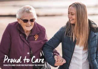 Devon's care sector urgently needs your help