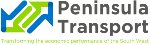 Peninsula Transport logo - transforming the economic performance of the South West