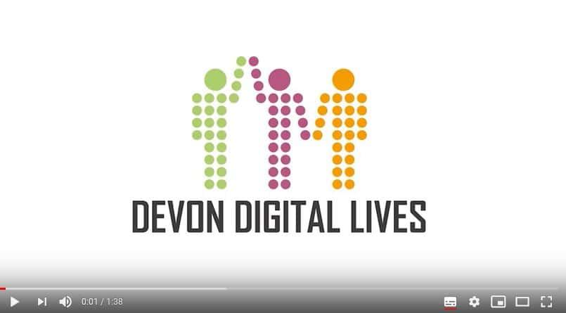 Devon Digital Lives Banner