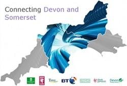 Connecting Devon and Somerset logo