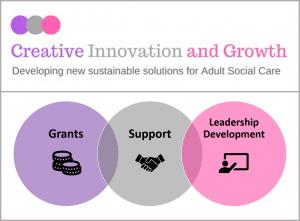 Creative Innovation and Growth logo