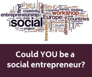 Social Entrepreneur word cloud
