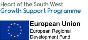Growth Support Programme European Regional Development Fund logo