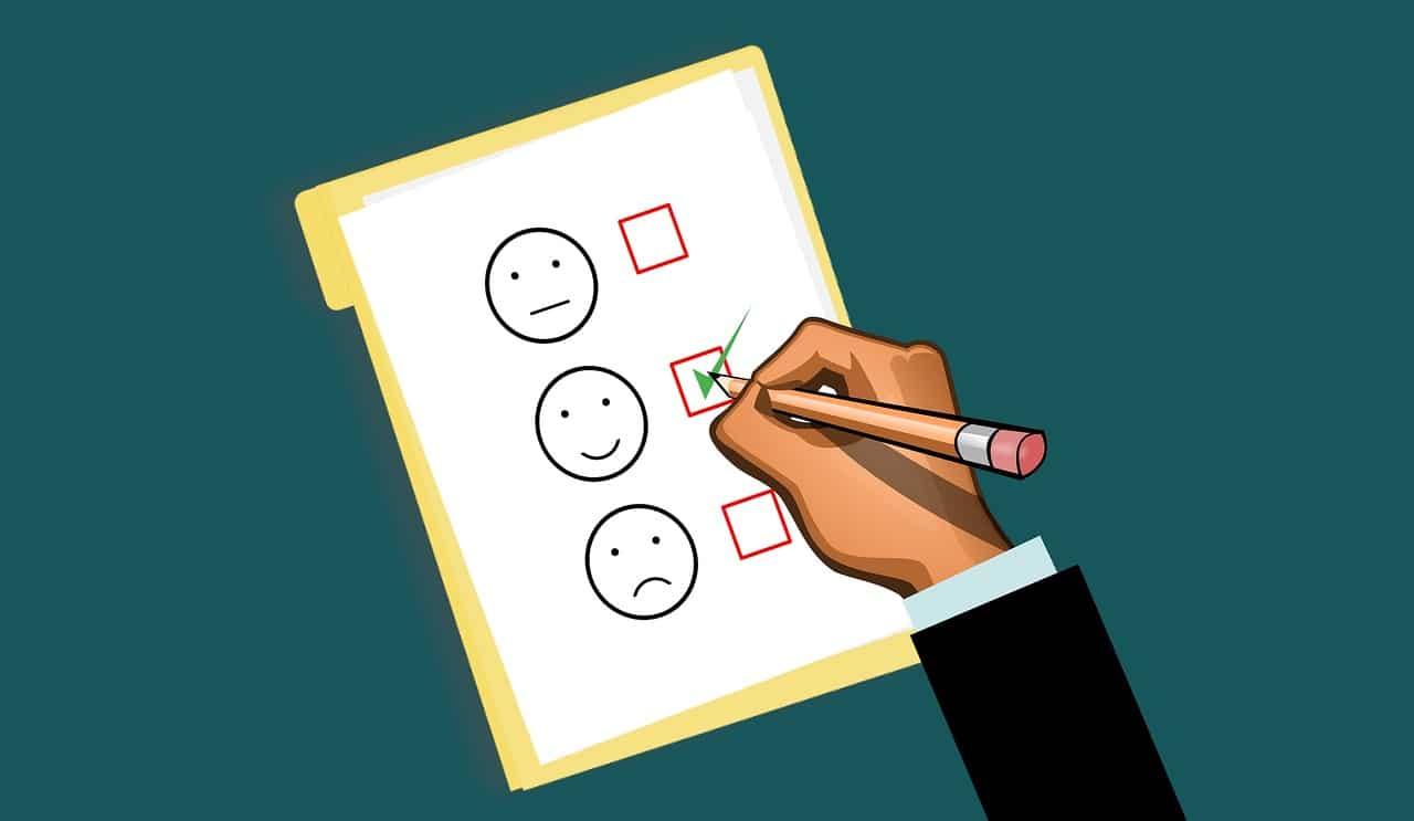 an illustration of a survey