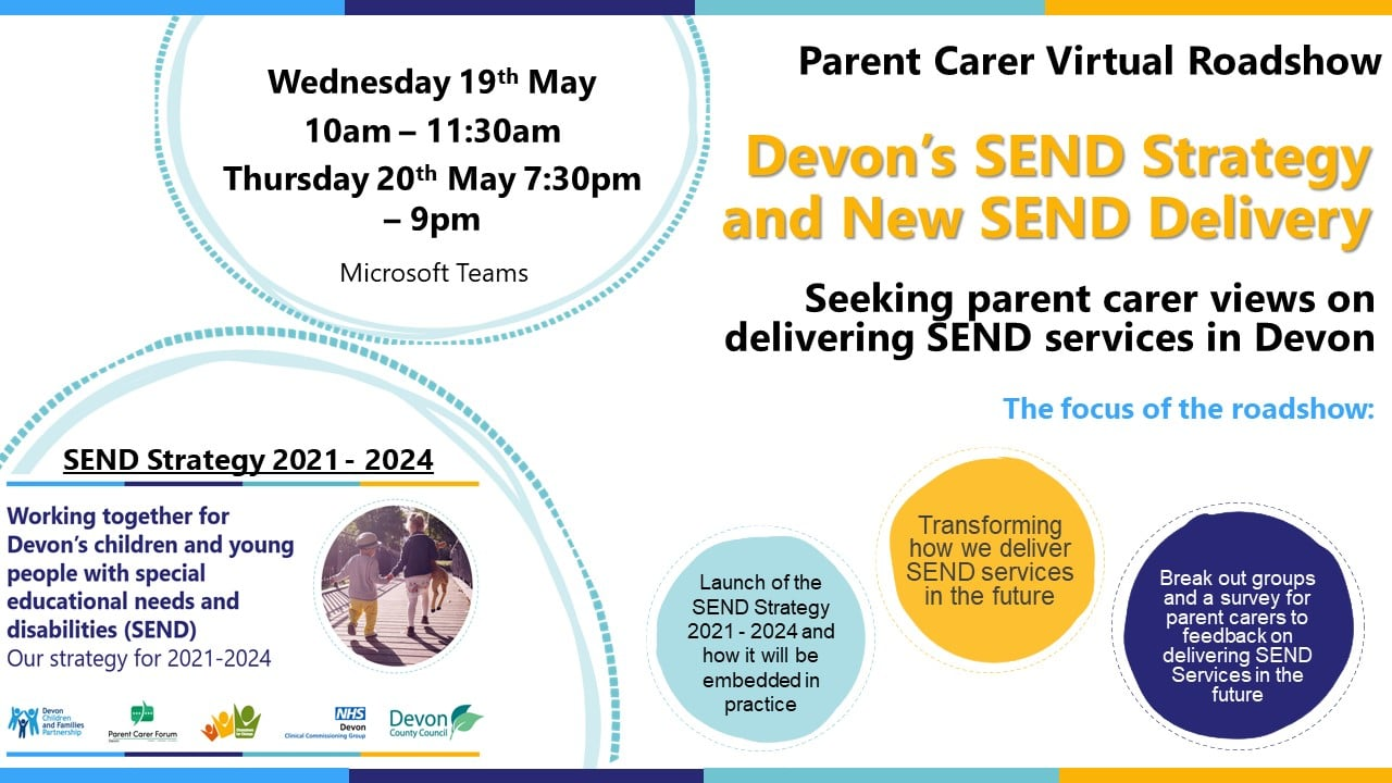 A flyer for the new Devon SEND strategy