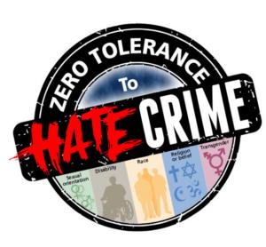 Zero Tolerance To Hate Crime campaign logo