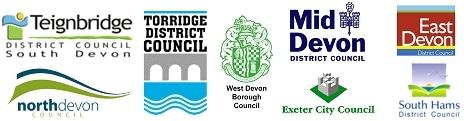 Devon District council logos