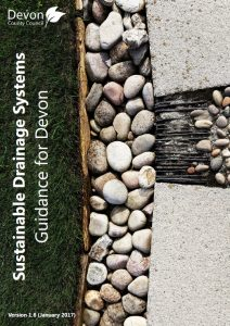 Front Cover of Sustainable Drainage Systems, Guidance for Devon