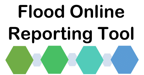 Flood Online Reporting Tool (FORT) banner