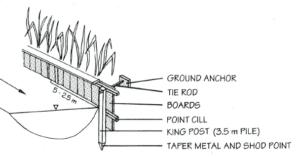 Image of Timber piling