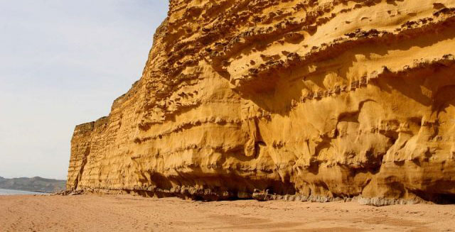 Jurassic Coast in Devon. Picture copyright Max Pixel