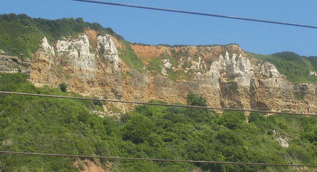 Berry Cliff west of Branscombe