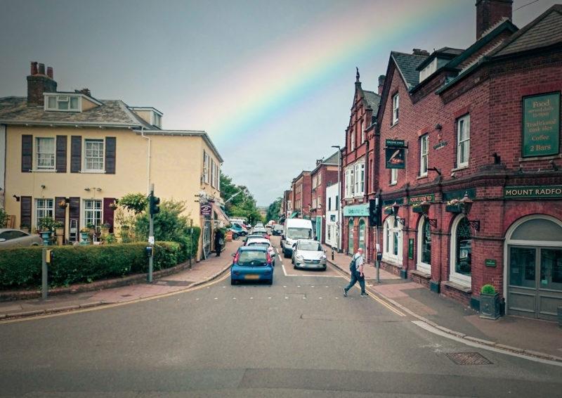 Magdalen Road in Exeter