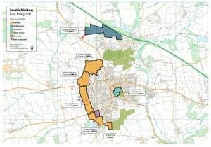 South Molton map