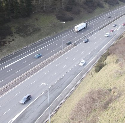 Photo of cars on the motorway