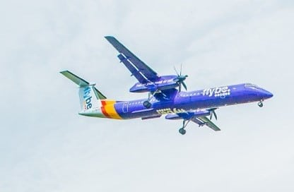 Photo of a Flybe aeroplane