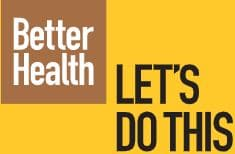 Better Health campaign image - 'Let's Do This'