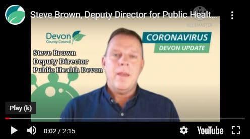 Steve Brown, Deputy Director of Public Health Devon