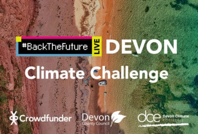 #BackTheFuture Devon Climate Challenge