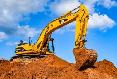 Photo of an excavator/digger