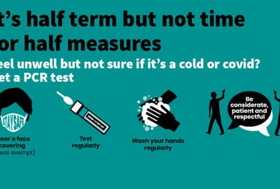graphic: 'It's half term but not time for half measures'