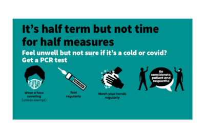 It's half term but not time for half measures