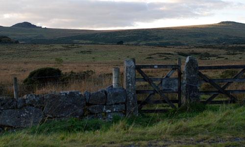 High Dartmoor north landscape image