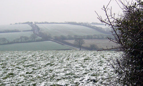 high taw farmland landscape picture