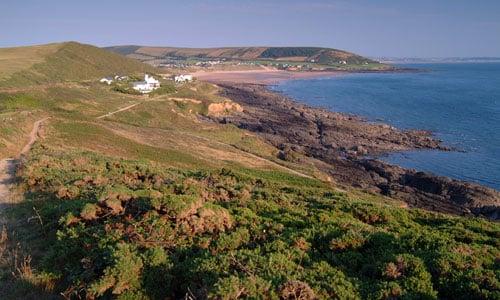north devon coastal downs landscape picture
