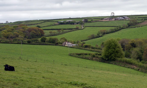 taw valley landscape picture