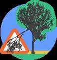 Hazardous or fallen trees