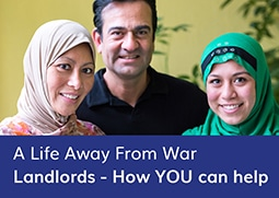 A life away from war. Landlords - how you can help