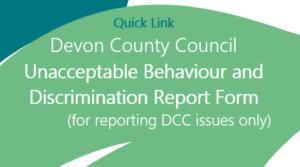 DCC Unacceptable Behaviour and Discrimination Report Form