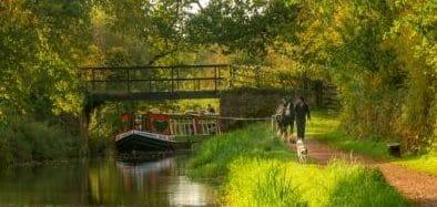 HD Barge at Warnicombe (Mark Gliddon)