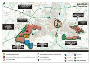 Bideford map