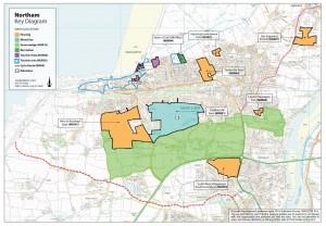 Northam map