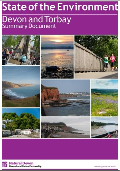 State of the Environment Devon and Torbay Summary Document Cover image