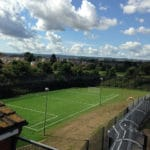 large sports pitch