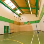 sports hall at the atkinson unit