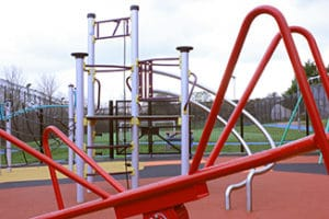 Outside play area at Atkinson