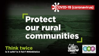 Protect our rural communities: Think Twice
