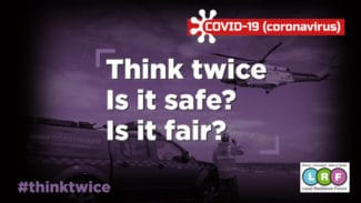Think twice campaign