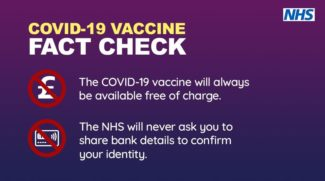 Fact checks watch out for vaccine scams