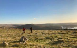 Dartmoor walkers