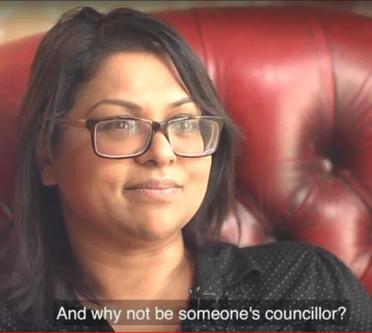 Video case studies of people who became councillors