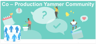 Link to Yammer community