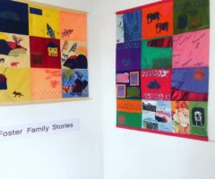 foster family art project